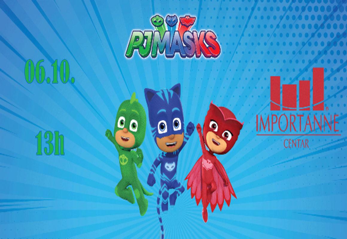 Velika Importanne zabava za najmlađe uz PJ Masks