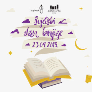 Importanne centar i Buybook pozivaju sve ljubitelje knjige na druženje povodom Svjetskog dana knjige